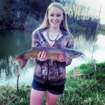 See what she caught at Papa Bears River Cabin!