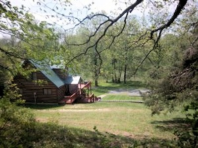 Papa Bear's River Cabin on the Shenandoah River